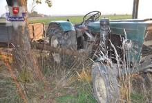 Śmiertelny wypadek podczas uruchamiania ciągnika