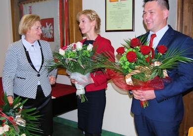 Posłowie Ziemi Biłgorajskiej na sesji