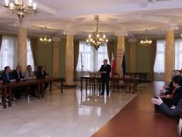 Spotkanie wojewody z dyrektorami wydziałów LUW